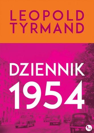 Dziennik 1954 - okładka książki