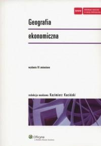 Geografia ekonomiczna - okładka książki
