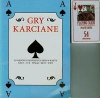 Gry karciane (+ karty) - okładka książki