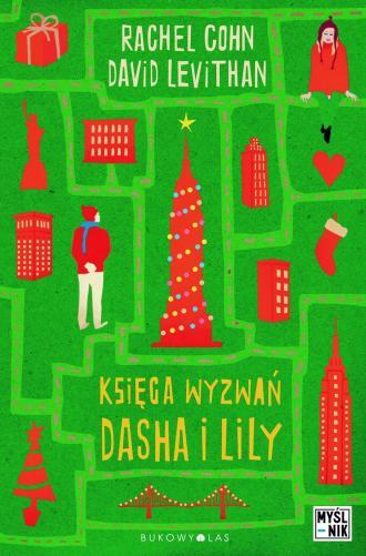 Księga wyzwań Dasha i Lily - okładka książki