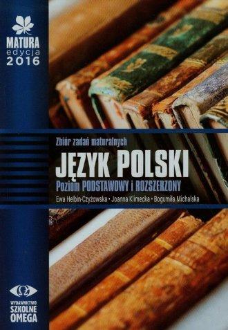 Matura 2016. Język polski. Zbiór - okładka podręcznika