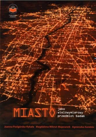 Miasto jako wielowymiarowy przedmiot - okładka książki