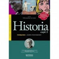 Odkrywamy na nowo. Historia. Szkoła ponadgimnazjalna. Podręcznik cz. 2. Zakres podstawowy - okładka podręcznika