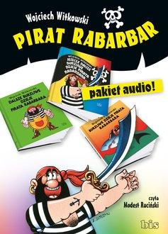 Pirat Rabarbar - pudełko audiobooku