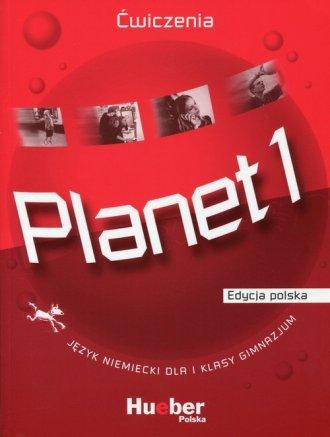 Planet 1. Ćwiczenia. Gimnazjum. - okładka podręcznika