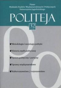 Politeja 2014 nr 32 (2)/2014 - okładka książki