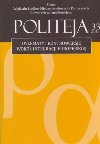 Politeja nr 33/2015 - okładka książki