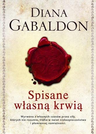 Spisane własną krwią - okładka książki