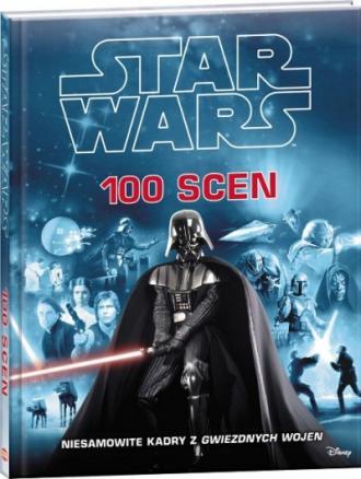 Star Wars. 100 scen - okładka książki