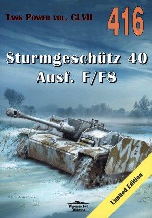 Sturmgeschutz 40 Ausf. F F8. Tank - okładka książki