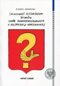 Świadomość historyczna uczniów - okładka książki