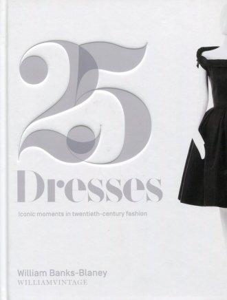 Twenty-Five Dresses - okładka książki