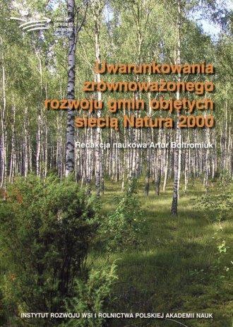 Uwarunkowania zrównoważonego rozwoju - okładka książki