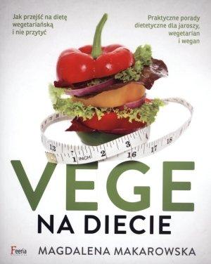 Vege na diecie - okładka książki