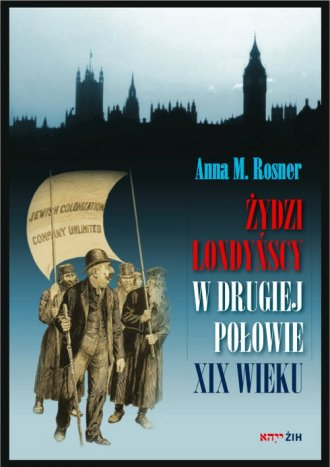 Żydzi londyńscy w drugiej połowie - okładka książki