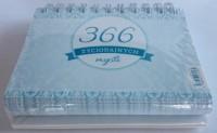 366 życiodajnych myśli - okładka książki