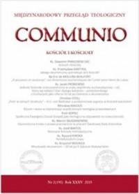 Communio nr 2(190)/2015. Kościół i Kościoły - okładka książki