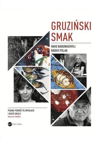 Gruziński smak - okładka książki