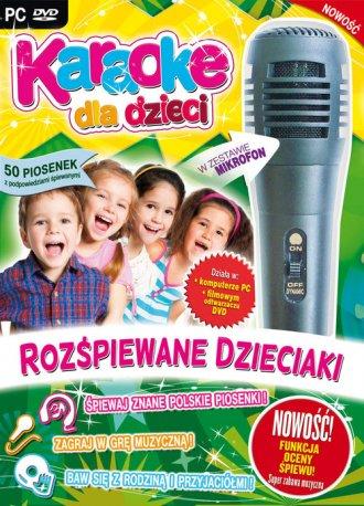 Karaoke dla dzieci. Rozśpiewane - pudełko programu