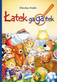 Łatek gagatek - okładka książki