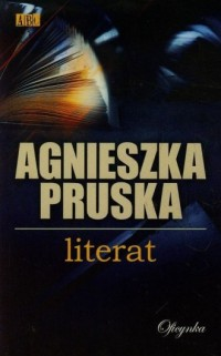 Literat - okładka książki