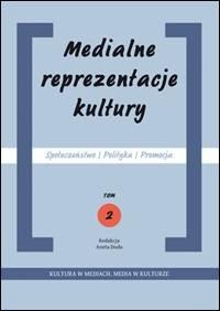 Medialne reprezentacje kultury. - okładka książki