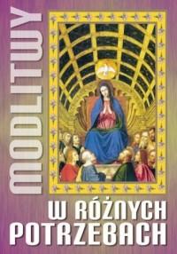Modlitwy w różnych potrzebach - okładka książki
