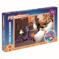 Pingwiny z Madagaskaru (puzzle - zdjęcie zabawki, gry