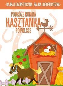Podróże konika Kasztanka po Polsce - okładka książki
