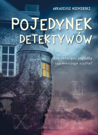 Pojedynek detektywów - okładka książki