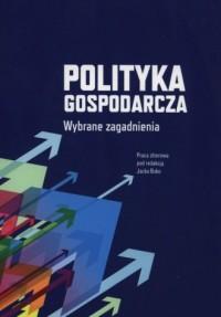 Polityka gospodarcza. Wybrane zgadnienia - okładka książki