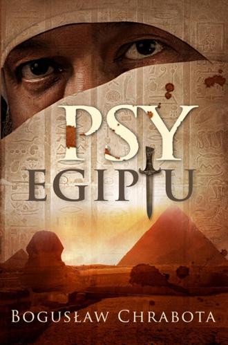 Psy Egiptu - okładka książki