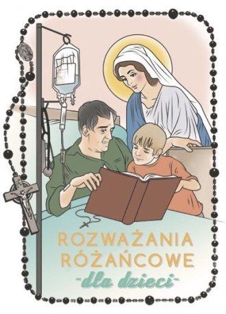 Rozważania różańcowe dla dzieci - okładka książki