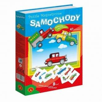 Samochody (puzzle magnetyczne) - zdjęcie zabawki, gry