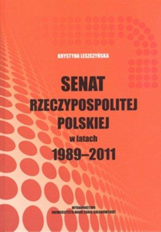 Senat Rzeczypospolitej Polskiej - okładka książki