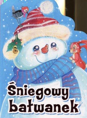Śniegowy bałwanek - okładka książki