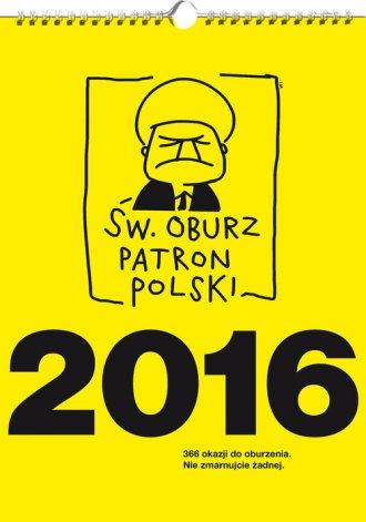 Kalendarz 2016. Św. Oburz. Patron - okładka książki