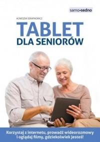 Tablet dla seniorów - okładka książki