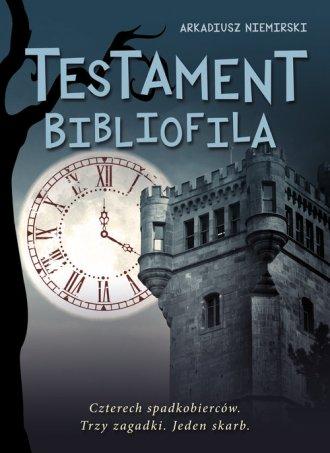 Testament bibliofila - okładka książki