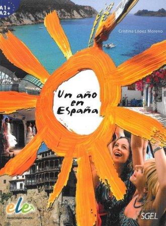Un ano en Espana - okładka podręcznika