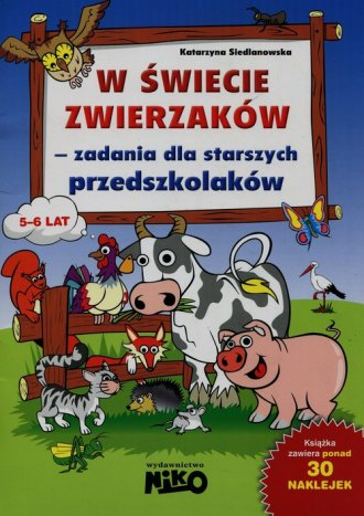 W świecie zwierzaków - zadania - okładka książki