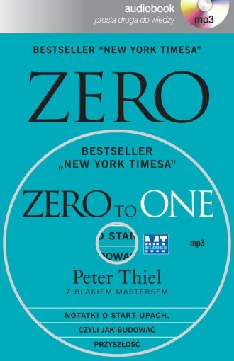Zero to one. Notatki o start-upach, - pudełko audiobooku