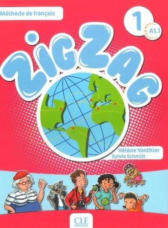 Zig Zag 1 A1.1. Podręcznik (+ CD) - okładka podręcznika