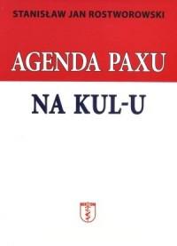 Agenda Paxu na KUL-u - okładka książki