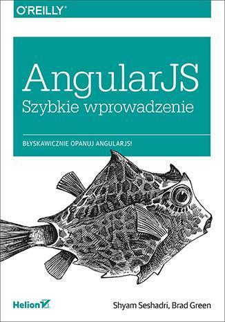 AngularJS Szybkie wprowadzenie - okładka książki