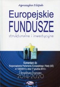 Europejskie fundusze 2014-2020. Strukturalne i inwestycyjne - okładka książki