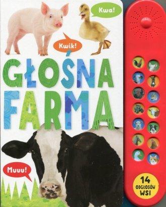 Głośna farma - okładka książki
