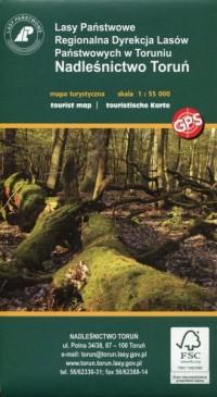 Nadleśnictwo Toruń Rowerem i pieszo mapa turystyczna 1:55 000 - okładka książki