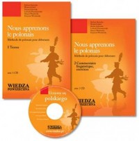 Nous apprenons le polonais (+ CD) - okładka podręcznika