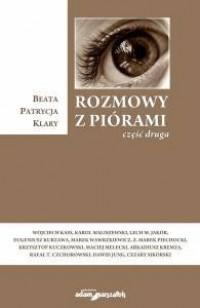 Rozmowy z piórami cz. 2 - okładka książki